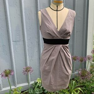 Grey 21 fitted dress
